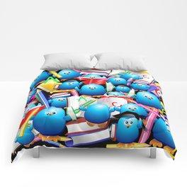 Back to School Cute Blue Birds Comforters