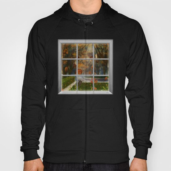 One Rainy Day In The Fall - Painting Hoody