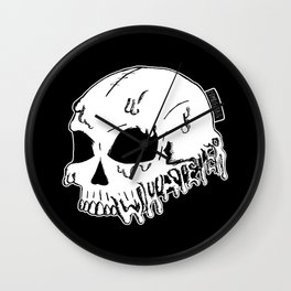 Dripping With Sarcasm - White bye zombieCraig Wall Clock