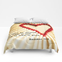 Romans 12:9 Comforters