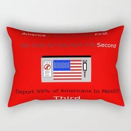 America FIrst Rectangular Pillow