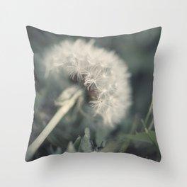 Dandelion Seed 5 Throw Pillow