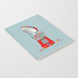 Unicorn Gumball Poop Notebook