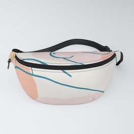 Abstraction_FIGURE_ART_001 Fanny Pack