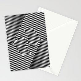 Hexagonal way Stationery Cards