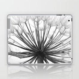 Black and White Dandelion Laptop & iPad Skin