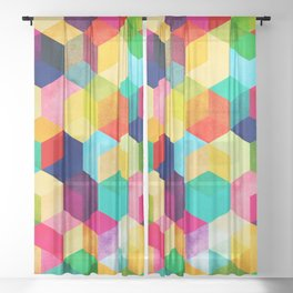 Hexa Sheer Curtain