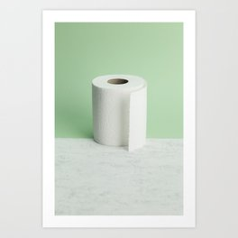 Toilet Paper | ready-made 2 Art Print