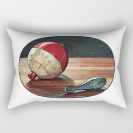 Bobber and Sinker by KPC Studios Rectangular Pillow