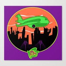 Unisex Version FJM  Planes and Jane's Canvas Print