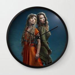 Take Flight Poster: A film By Krystal Bartlowe Wall Clock