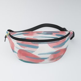 24   | 190408 Red Abstract Watercolour Fanny Pack
