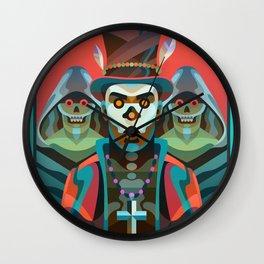 Baron Samedi Wall Clock