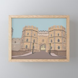 Windsor castle Framed Mini Art Print