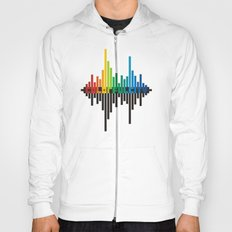 colorful city Hoody