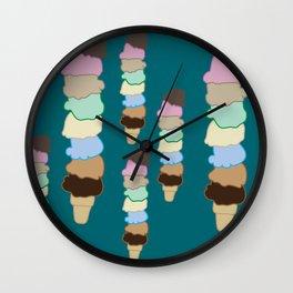 Craving Ice Cream Wall Clock