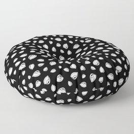 Eyeroll on Repeat Black Floor Pillow