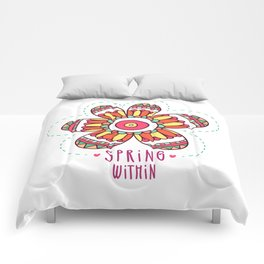 Spring Flower Comforters