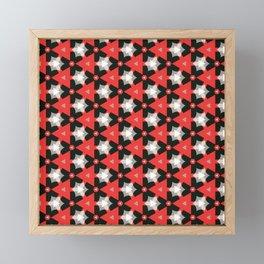 Abstract Fest Pattern 05 Framed Mini Art Print