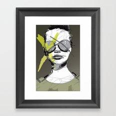 Camo-Chic Framed Art Print