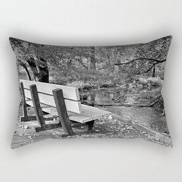 Never Yield Rectangular Pillow
