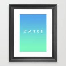 OMBRE #1 Framed Art Print