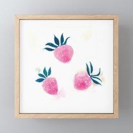 Summer Berries Framed Mini Art Print