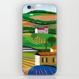 Green Fields iPhone Skin