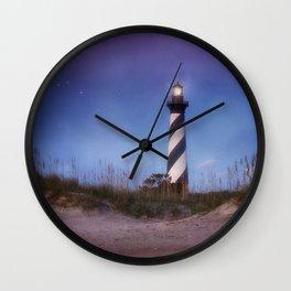 Cape Hatteras Light Wall Clock