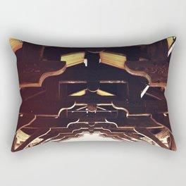 Wooden Beams Rectangular Pillow