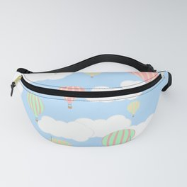Hot Air Balloon In the Sky Fanny Pack