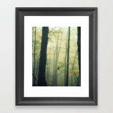 Let the Silence Take Me Framed Art Print