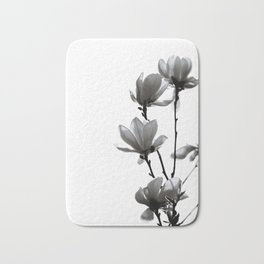 BLACK MAGNOLIA Bath Mat
