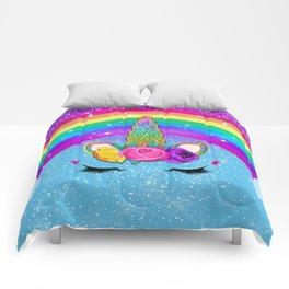 Rainbow Sparkle Unicorn Comforters
