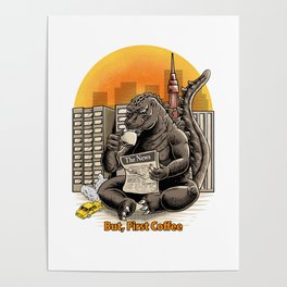 Coffeezilla Poster