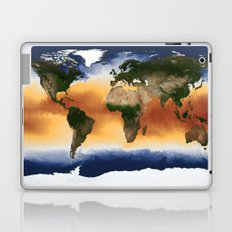 A Portrait of Global Sea Surface Temperatures Laptop & iPad Skin