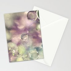 Ice Crystals Stationery Cards