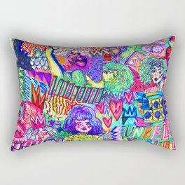 Girls These Days Rectangular Pillow