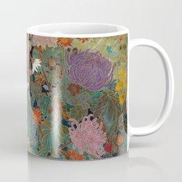 flower【Japanese painting】 Coffee Mug