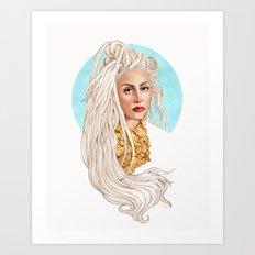 Versace Venus Art Print