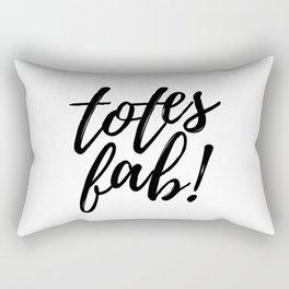 Totes Fab! Rectangular Pillow