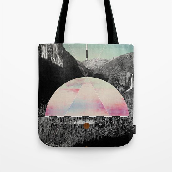 Candy Floss Skies Tote Bag