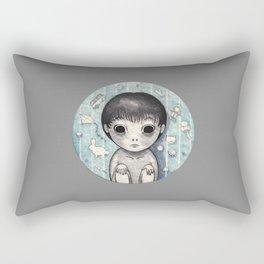 Little Ghost Boy Toshio Rectangular Pillow