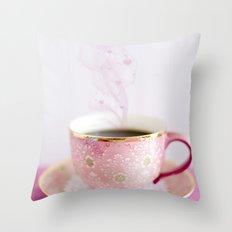Love my coffee Throw Pillow