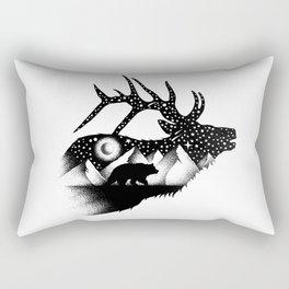 THE ELK AND THE BEAR Rectangular Pillow