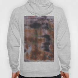 Copper and Iron abstract pattern Hoody