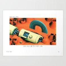POP HELL #4 Art Print