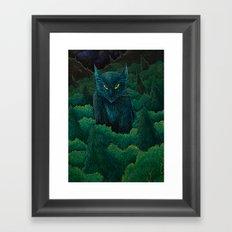 Jungle Cat Framed Art Print