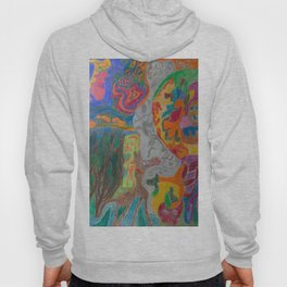A Good Witch from The Rainbow Coral River Forest in Another World Hoody