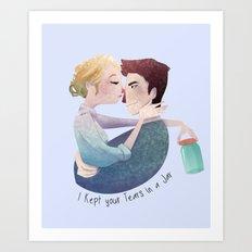 Tears in a Jar Art Print